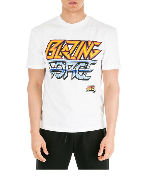 T-shirt MCQ Alexander McQueen 291571RNH119000 bianco