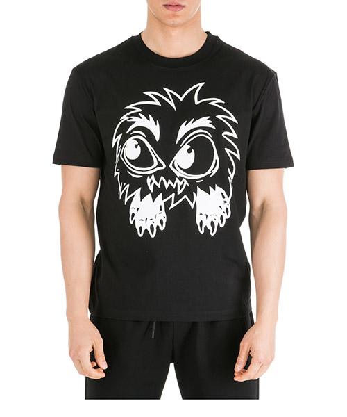 T-shirt MCQ Alexander McQueen Monster 291571RNH151000 nero