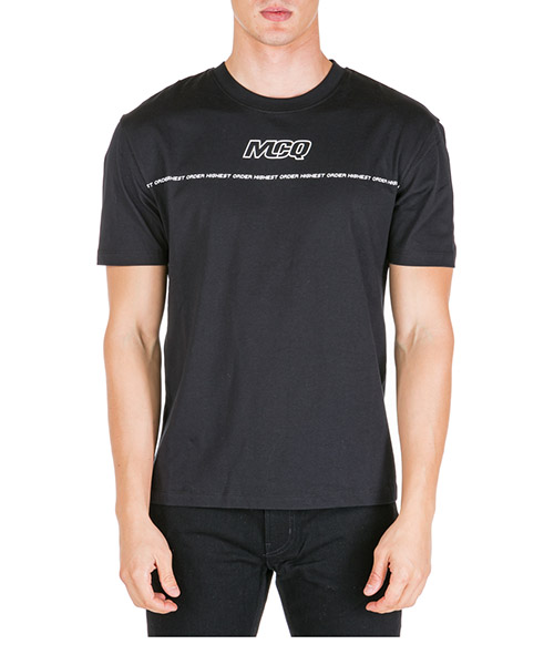 Camiseta MCQ Alexander McQueen 291571RNH441000 nero