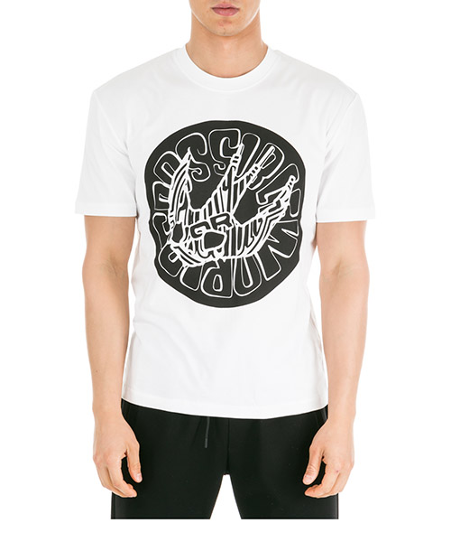 T-shirt MCQ Alexander McQueen 291571RNR039000 bianco