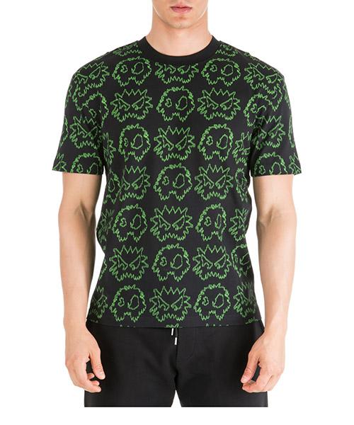 T-shirt MCQ Alexander McQueen Chester 291571RNT501000 black