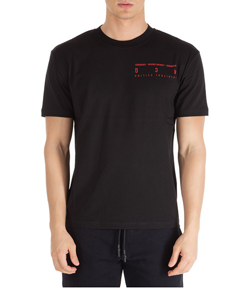 T-shirt MCQ Alexander McQueen new swallow 291571rot241000 darkest black
