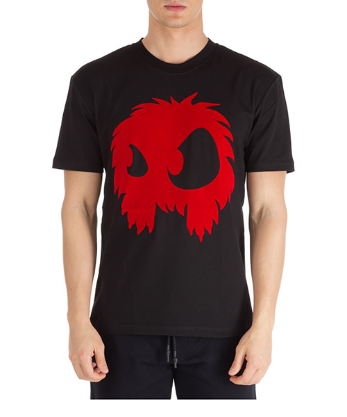 T-shirt MCQ Alexander McQueen mad-chester 291571rot301091 darkest black - rouge