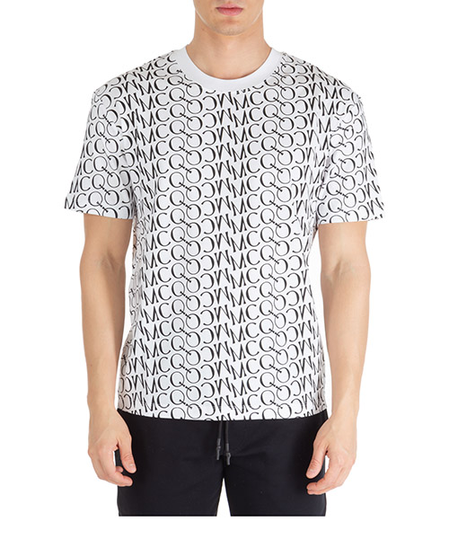 Camiseta MCQ Alexander McQueen logo 291571rot389000 optic white