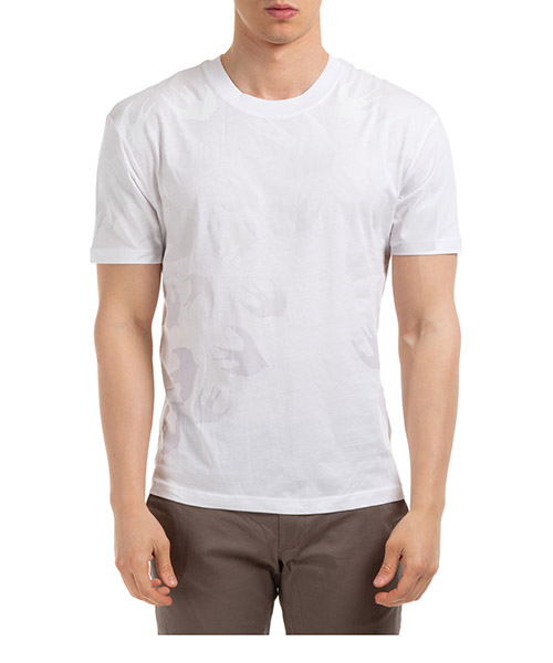 T-shirt MCQ Alexander McQueen swallow 291571rot439000 optic white
