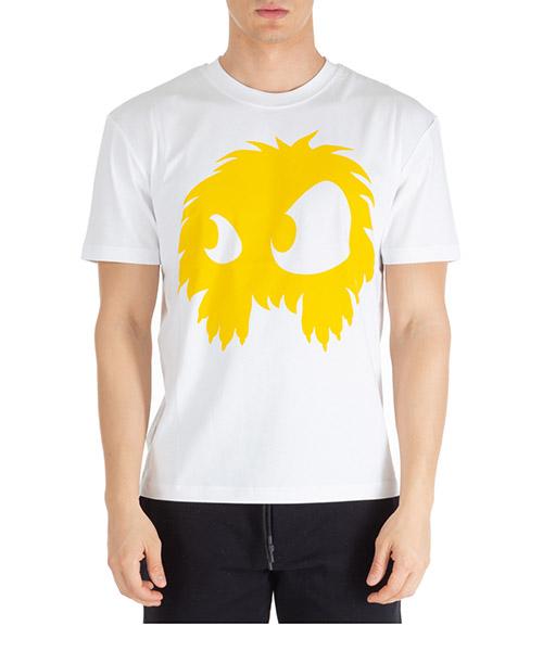 Camiseta MCQ Alexander McQueen mad-chester 291571rot499164 optic white