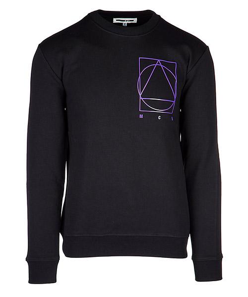 Sweatshirt MCQ Alexander McQueen 348190 RIT31 1000 darkest black