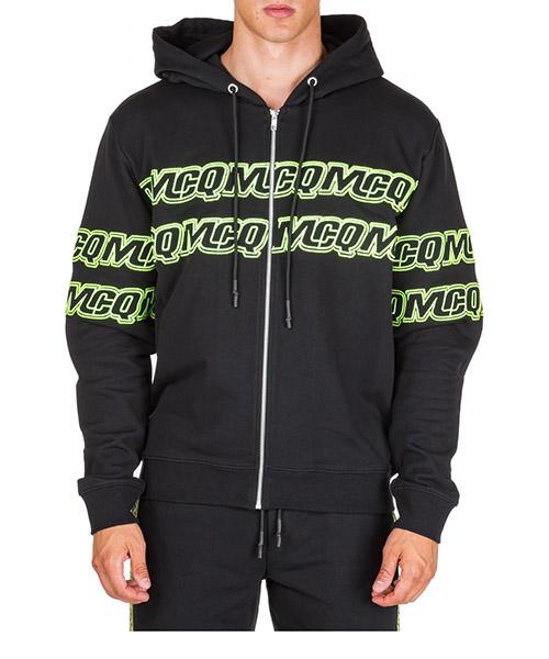 Sweatshirt mit Zip MCQ Alexander McQueen 441386RNT291000 nero