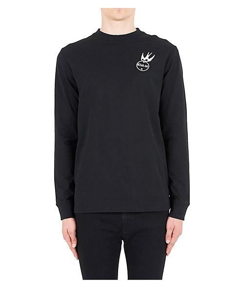 Long sleeve t-shirt MCQ Alexander McQueen 462463RKT061000 nero