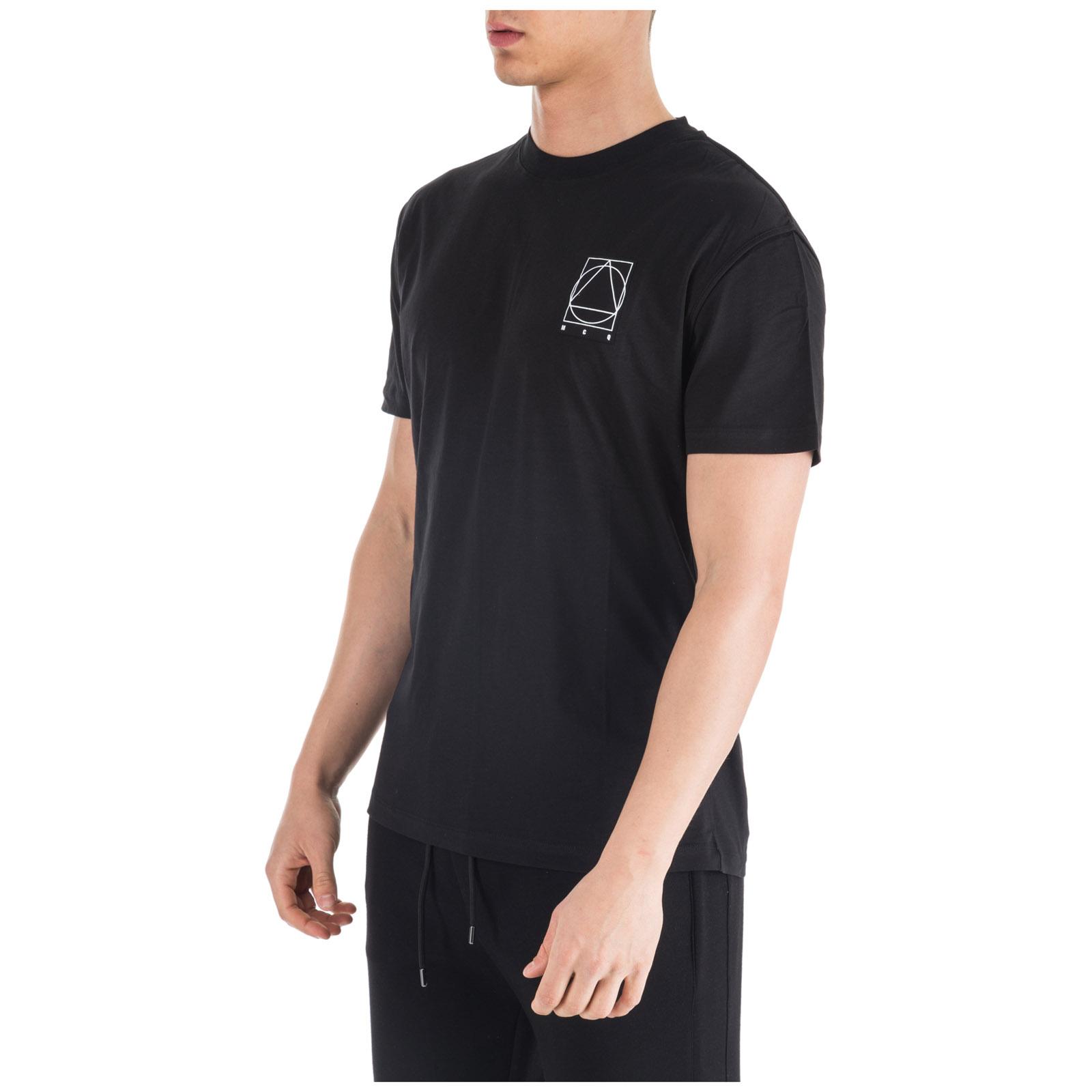 T-shirt maglia maniche corte girocollo uomo