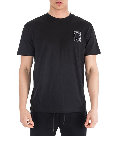 T-shirt MCQ Alexander McQueen 471264 RIR86 1000 darkest black