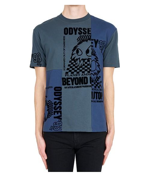 T-shirt MCQ Alexander McQueen 485503RLT234056 blu