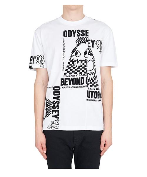 T-shirt MCQ Alexander McQueen 485503RLT239000 bianco
