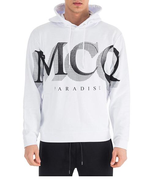 Sweatshirt MCQ Alexander McQueen Paradise 494034RLH439000 bianco