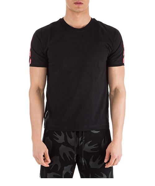 T-shirt MCQ Alexander McQueen 524143RMT401000 nero
