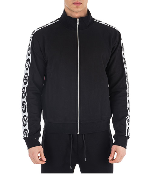 Zip up sweatshirt  MCQ Alexander McQueen 525893RMT411000 black