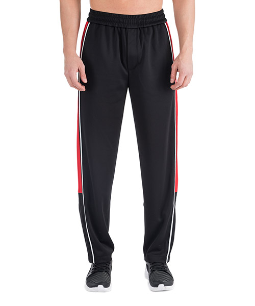 Sport trousers  MCQ Alexander McQueen 525898RMT471091 black - red - white