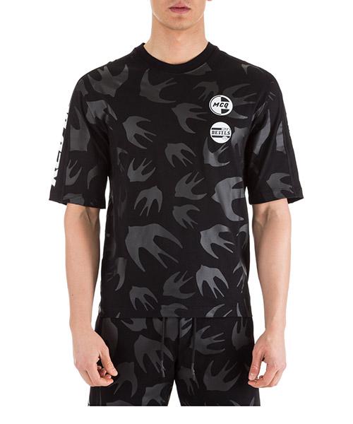 T-shirt MCQ Alexander McQueen 527529RMT681000 nero