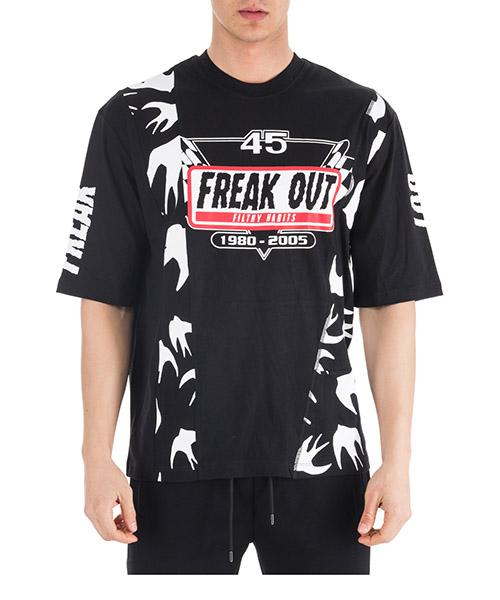 T-shirt MCQ Alexander McQueen 541991RMT661000 nero