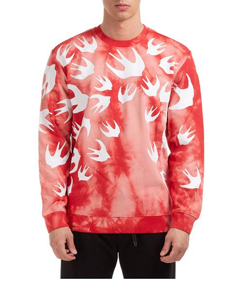 Sweatshirt MCQ Alexander McQueen swallow 545415RPR106406 rosso