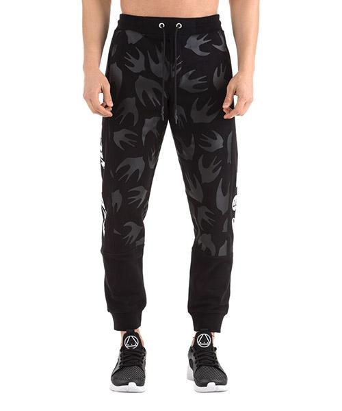 Pantalons de sport MCQ Alexander McQueen 547571RMT691000 nero