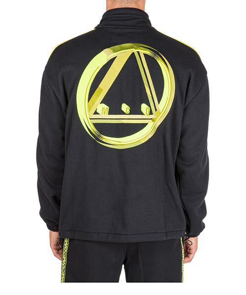 Sweatshirt mit Zip MCQ Alexander McQueen 548512RNT051000 nero