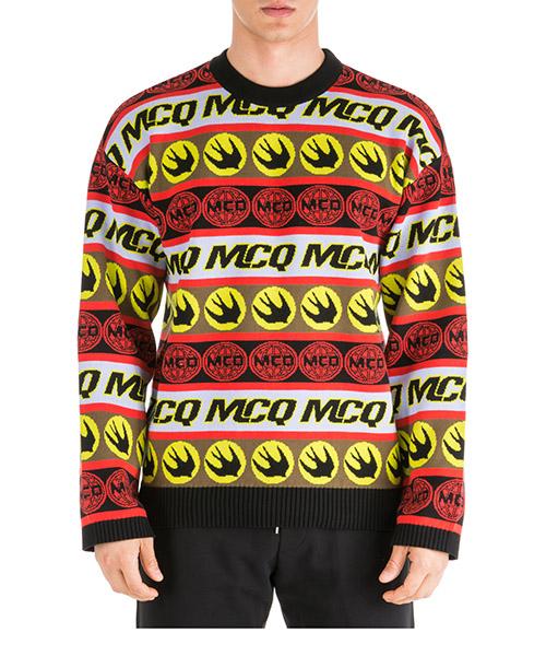 Maglione MCQ Alexander McQueen swallow 570730rnn206060 multicolor