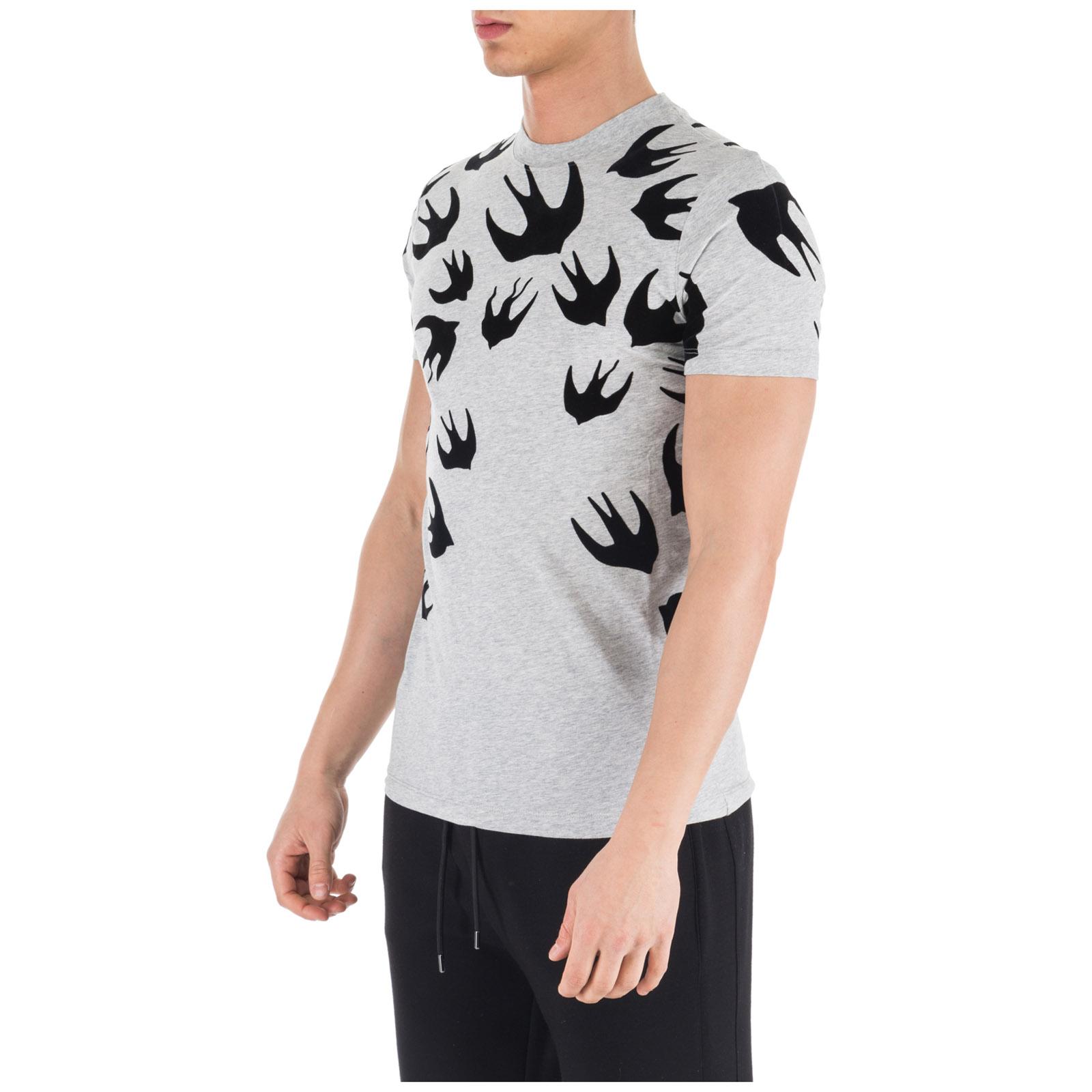 Herren't-shirt kurzarm kurzarmshirt runder kragen swallow