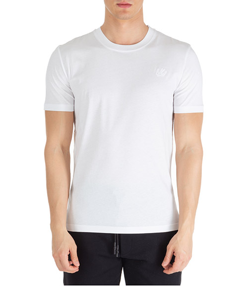 T-shirt McQ Swallow Swallow 277605RMT749000 optic white