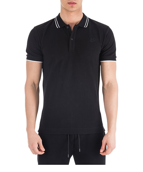 Polo shirts McQ Swallow Swallow 277624RMT721000 nero