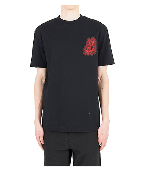 T-shirt McQ Swallow 291571RKR101000 nero