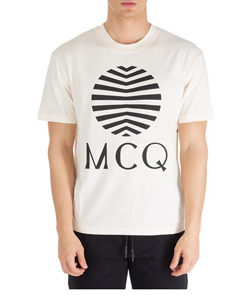 T-shirt McQ Swallow 291571ROT379089 beige