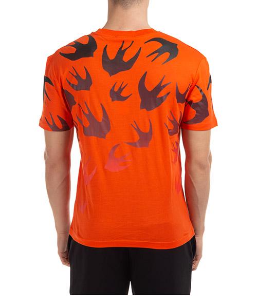 Men's short sleeve t-shirt crew neckline jumper fading swallow secondary image