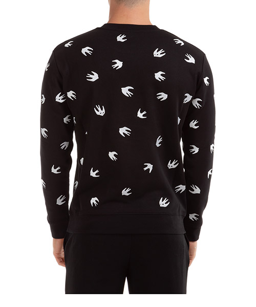 Men's sweatshirt sweat coverlock swallow secondary image