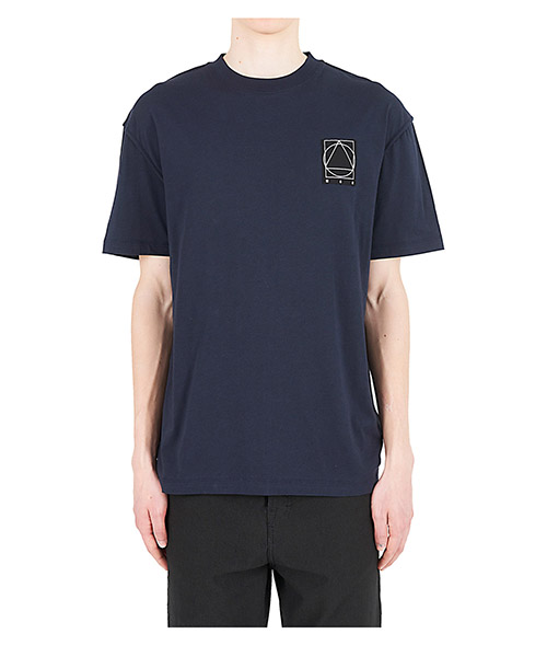T-shirt McQ Swallow 471264RIR864051 blu