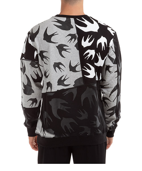 Men's sweatshirt sweat cut up swallow secondary image