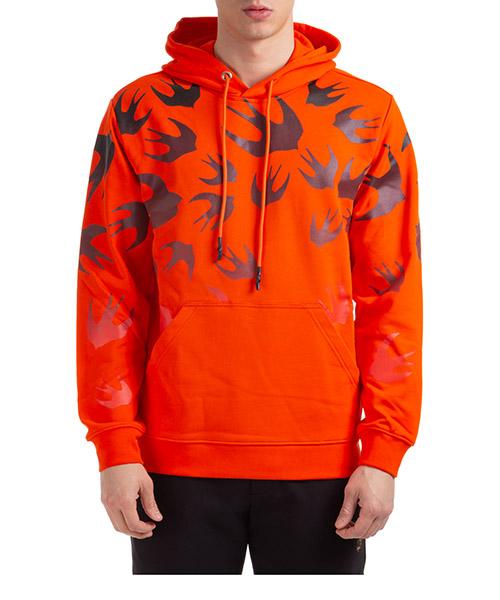 Hoodie McQ Swallow Swallow 545412ROT427560 arancione