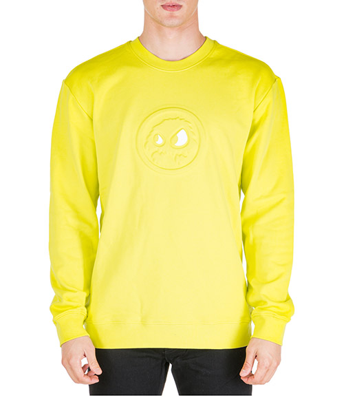 Sweatshirt McQ Swallow Mad-Chester 545415RNR267304 giallo