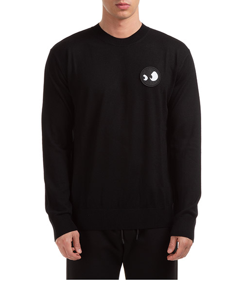 Jumper McQ Swallow Monster 602943RPN011000 nero