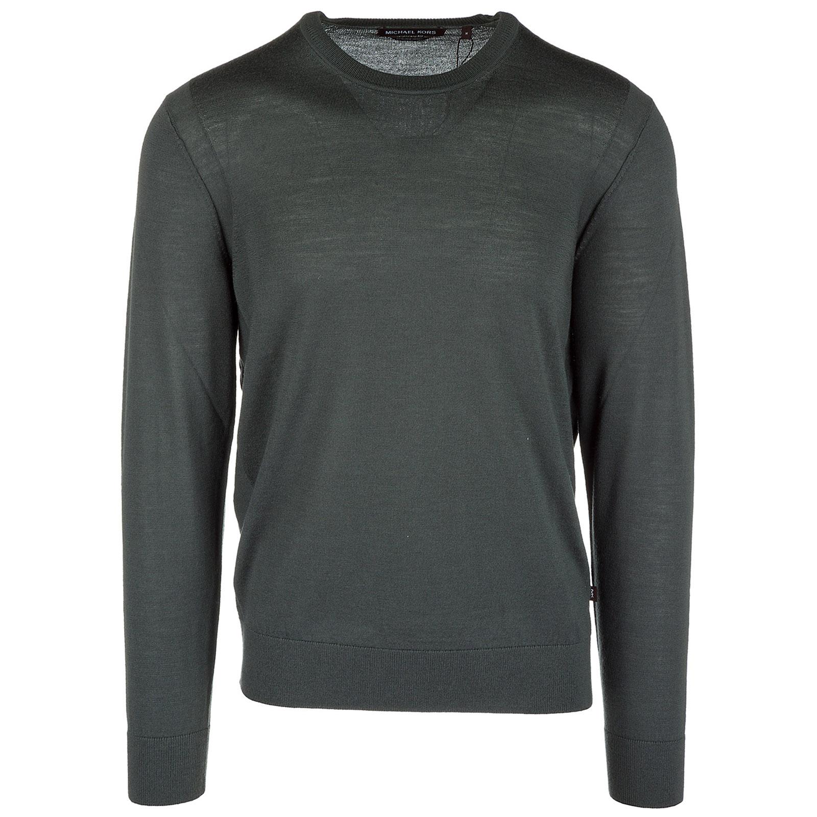 5e057d859e0299 Michael Kors Men's crew neck neckline jumper sweater pullover