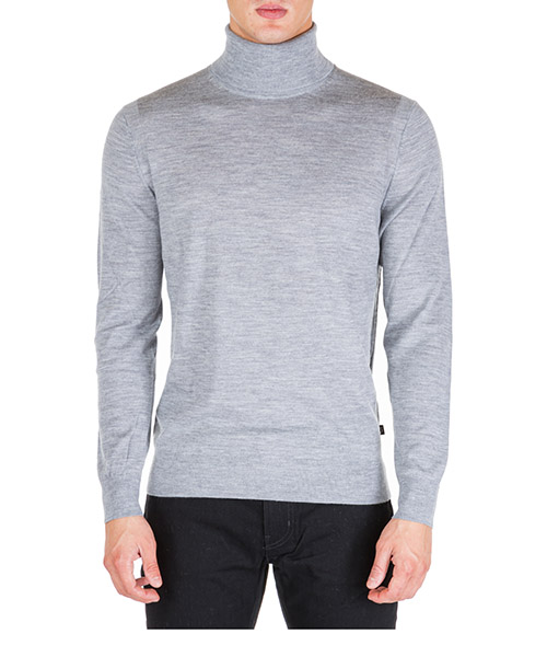 Roll neck jumper Michael Kors cf96k2c2dg 030 heather grey