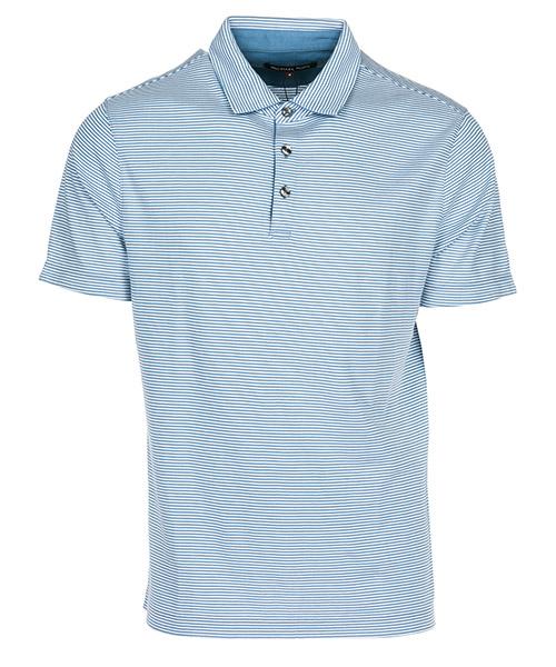 Polo t-shirt Michael Kors CS85GNN4NG420 wave blue
