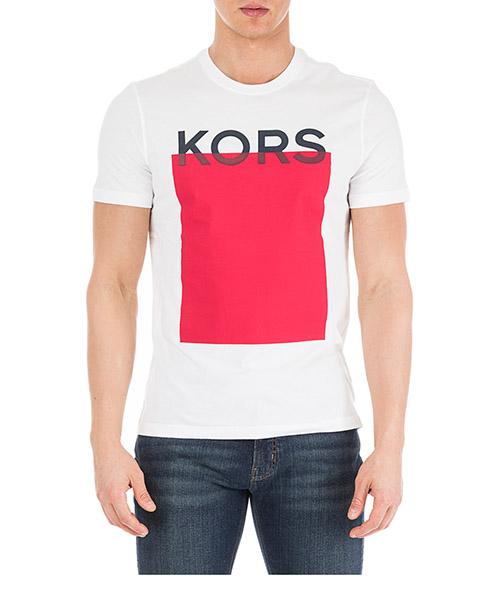 Camiseta Michael Kors CS95HCFFV4 100 white