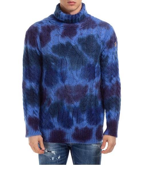 Suéter cuello alto Moncler Genius 9204100A9306785 blu