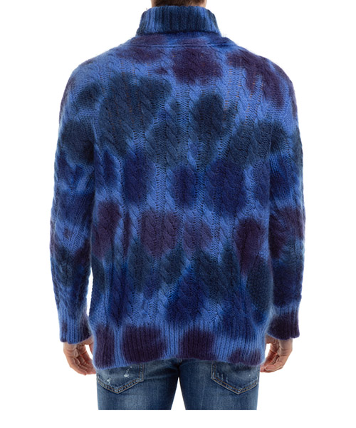 Suéter cuello de tortuga cuello alto de hombre secondary image
