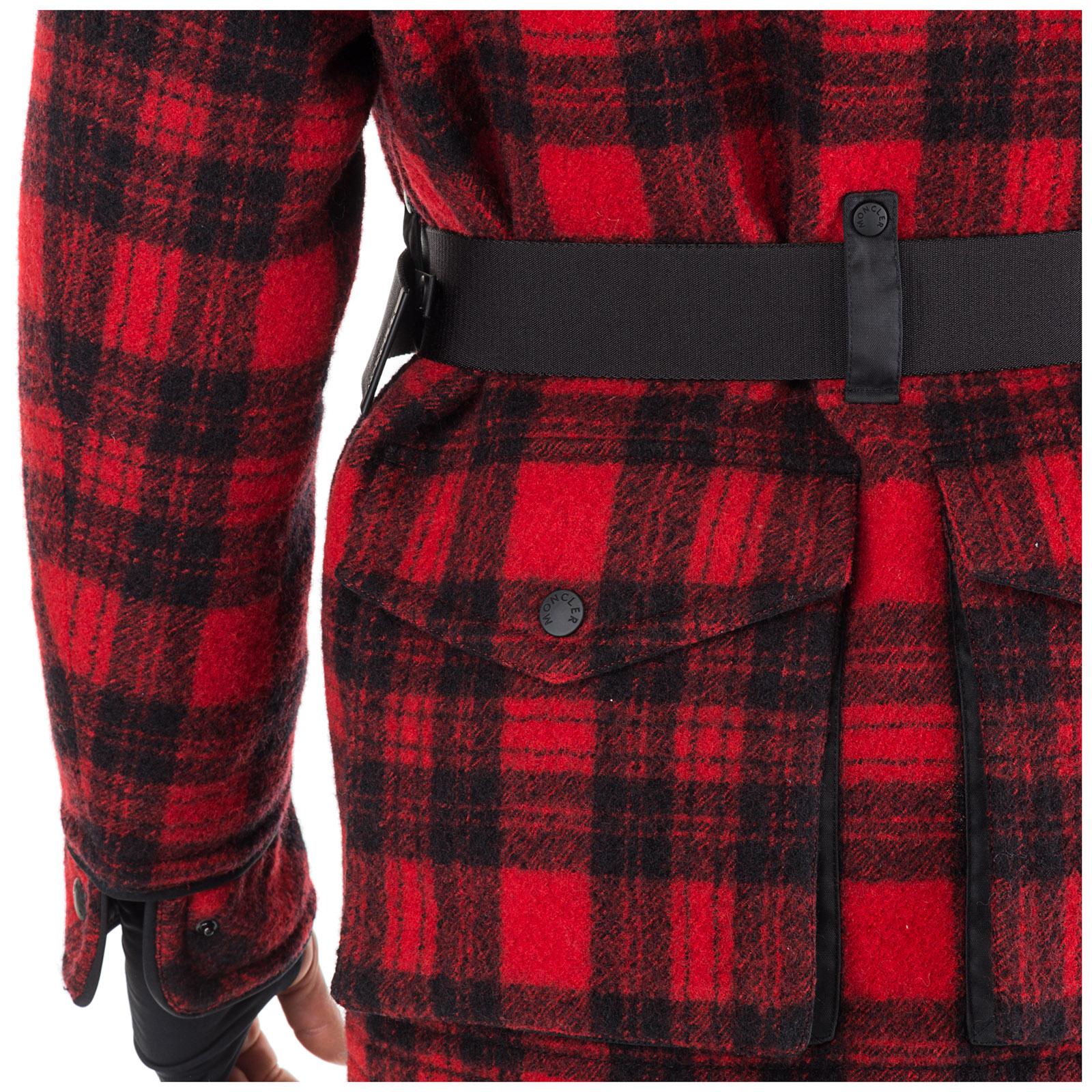Men's outerwear jacket blouson hood stowe