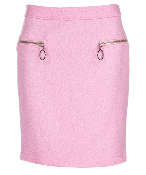 Minigonna Moschino A010354170221 rosa confetto