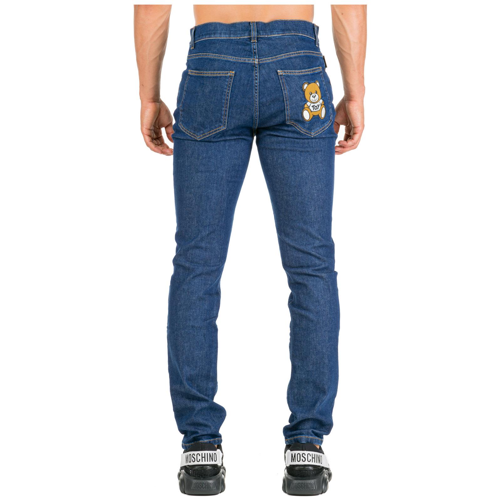 609fad5448 Jeans uomo teddy bear slim fit