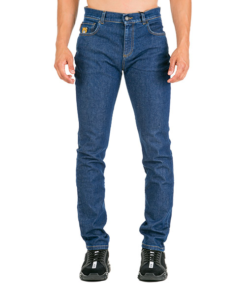 Vaqueros jeans denim de hombre pantalones teddy bear slim fit secondary image