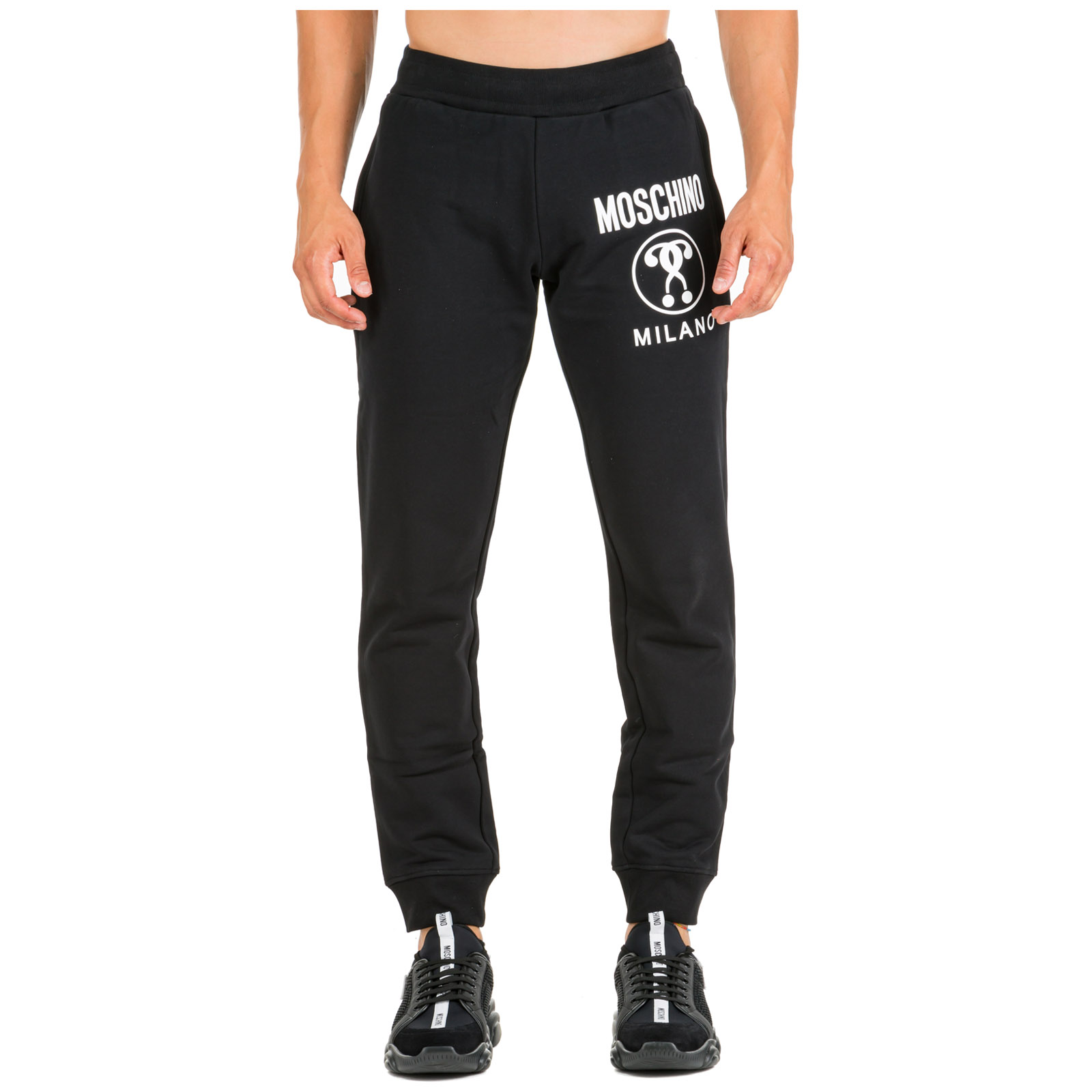 Moschino Pants Men's sport tracksuit trousers slim fit